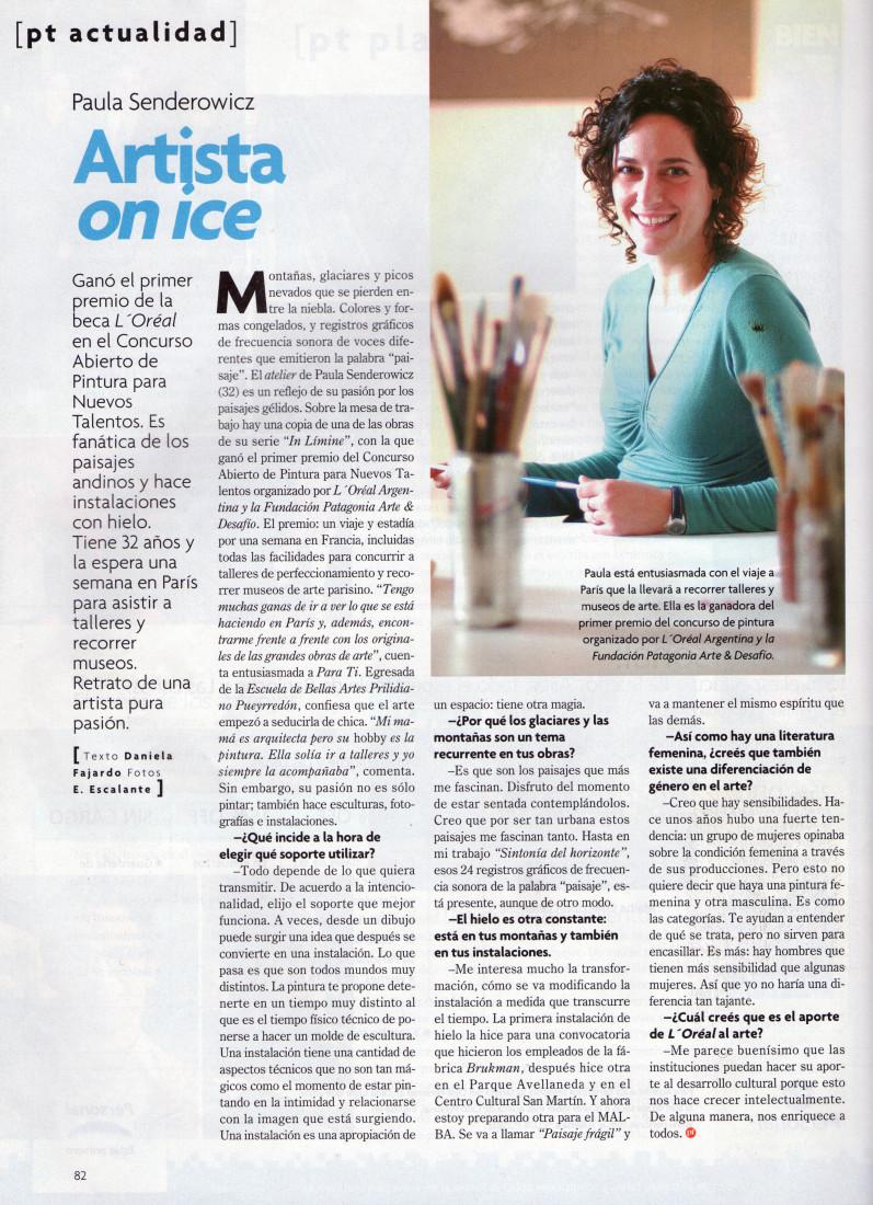 Artista on ice Para tí